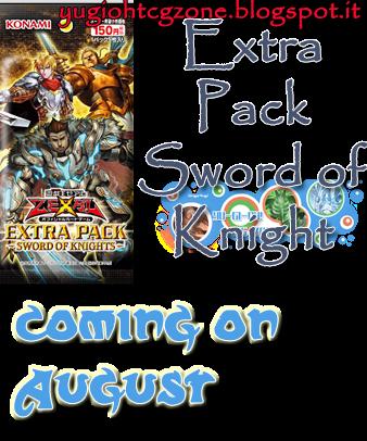 Extra Pack Sword of Knight Spoiler OCG