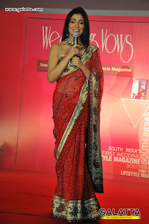 Shriya Saran Photos at the launch of Wedding Vows Magazine