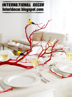 Uses of tree branches for home decorating ideas - International decor