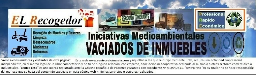 RECOGIDA DE MUEBLES Y ENSERES MURCIA