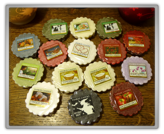 sensational home Yankee Candle wax tarts
