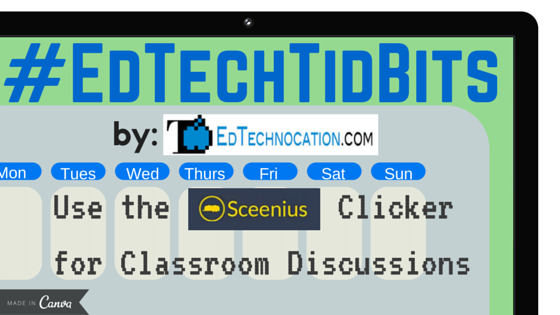 Try the Sceenius Clicker for Instant Feedback During Classroom Discussions