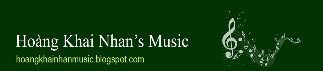 HOÀNG KHAI NHAN's Music