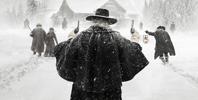 Os Oito Odiados de Quentin Tarantino terá pré-estreia paga a partir de 1 de janeiro