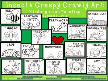 http://www.teacherspayteachers.com/Product/A-Insect-and-Creepy-Crawly-Kindergarten-Painting-668249