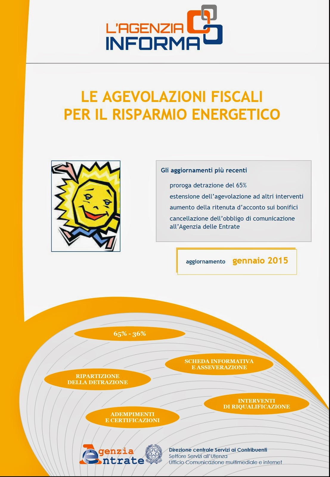 Agevoblog guide ai bonus energia ristrutturazioni e for Agenzia delle entrate risparmio energetico