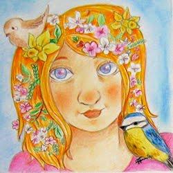welkom in de lente als de vogeltjes fluiten
