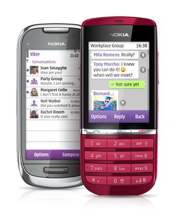 Viber released app for Symbian phones, free messages and group chat with up to 15 friends