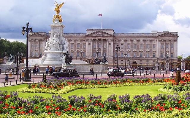 英國白金漢宮