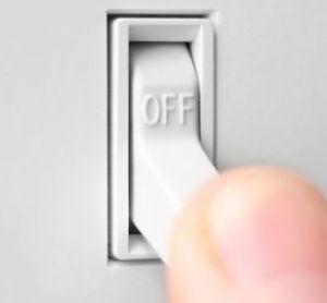 bajar el switch general