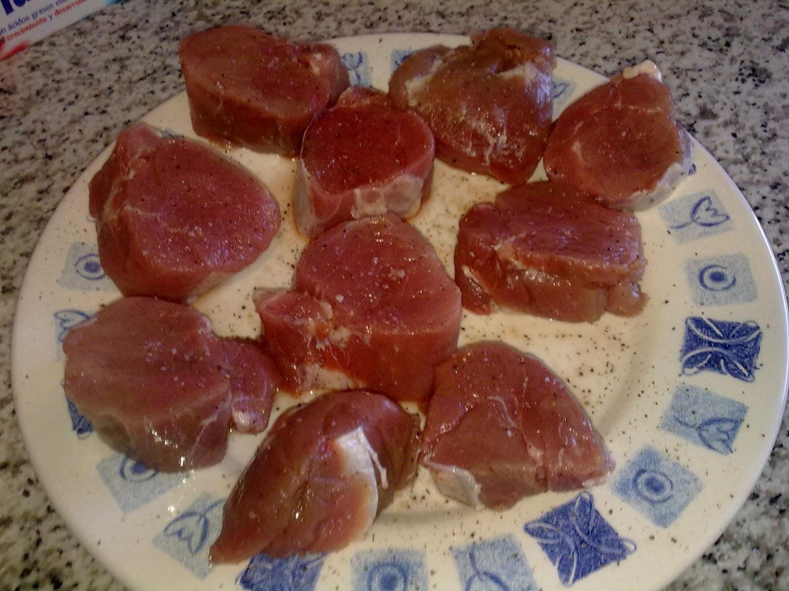 Mis recetas de cocina solomillo de cerdo al hojaldre con - Como preparar un solomillo de cerdo al horno ...
