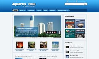 Aquares WordPress Theme