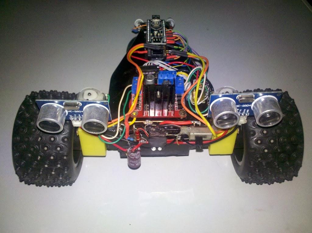 Ros y su mente inquieta segundo robot autónomo con arduino