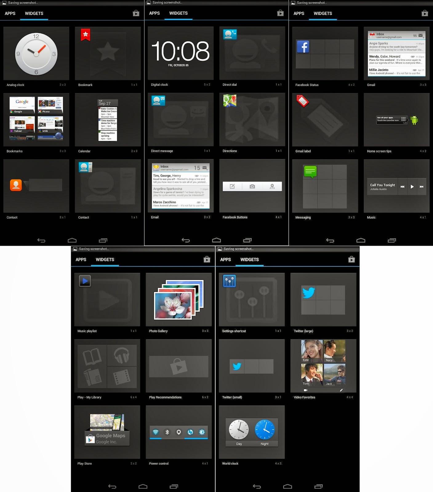 SKK Mobile Extreme Default Widgets