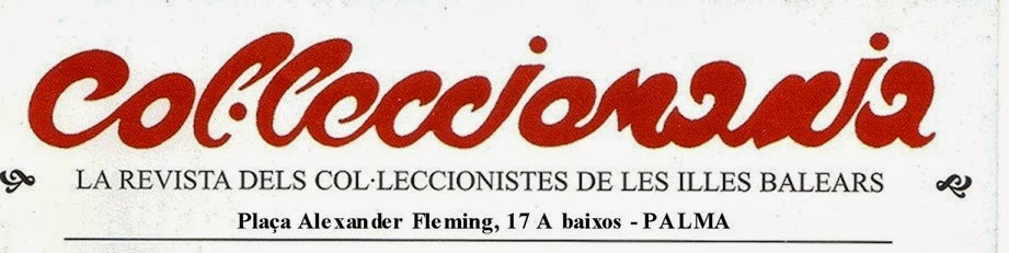 "Col·lecciomania ""BLOG OFICIAL DE FEBASOFI"". Noticies. Noticias. News."