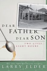 "Larry's latest book ""Dear Father Dear Son"""