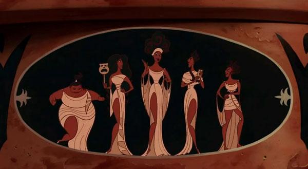 The Muses in Disney's Hercules