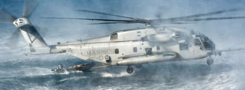 CH 53e super stallion helicopter facebook cover