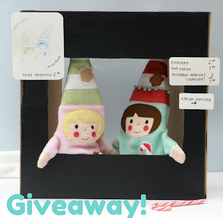 Elf puppet giveaway!