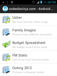 Android Custom ListView - lower part of our listview