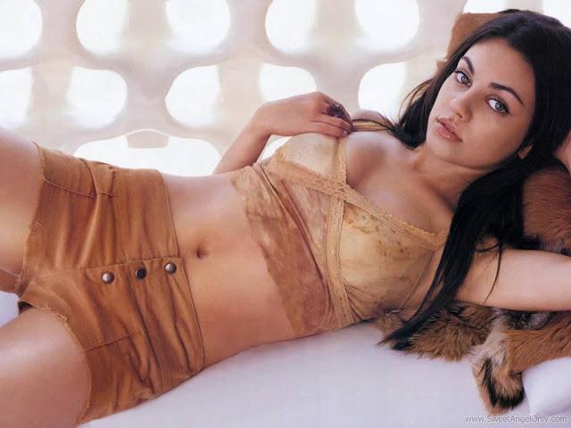 Mila Kunis Latest Wallpaper-Wide Screen