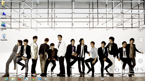 Super Junior Theme For Windows 7 And 8