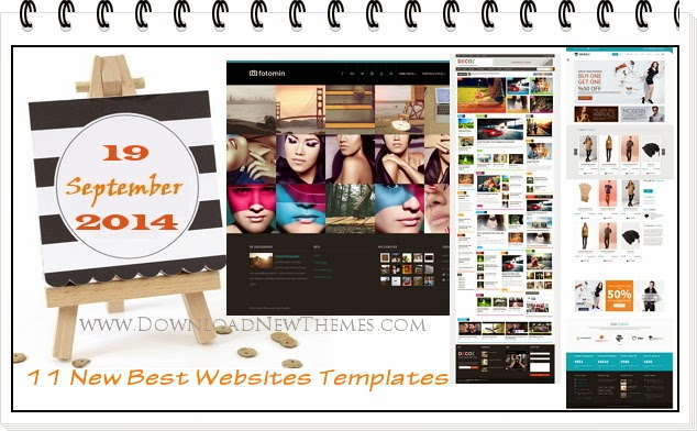 New Best Websites Templates