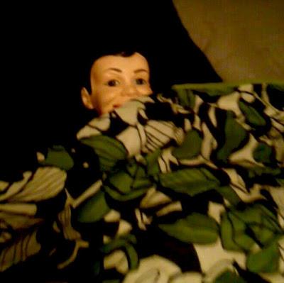 Vintage Charlie McCarthy ventriloquist dummy stuffed doll