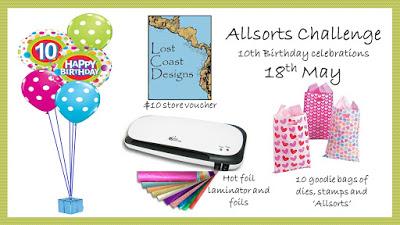 Allsorts Birthday Challenge