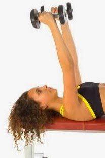 Bench press (neutral grip) exercise for chest using dumbbells4