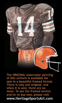 Cleveland Browns 1980 uniform