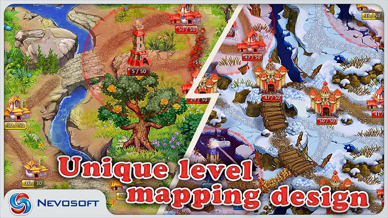 Android LandGrabbers: Strategy Game Apk resimi 2