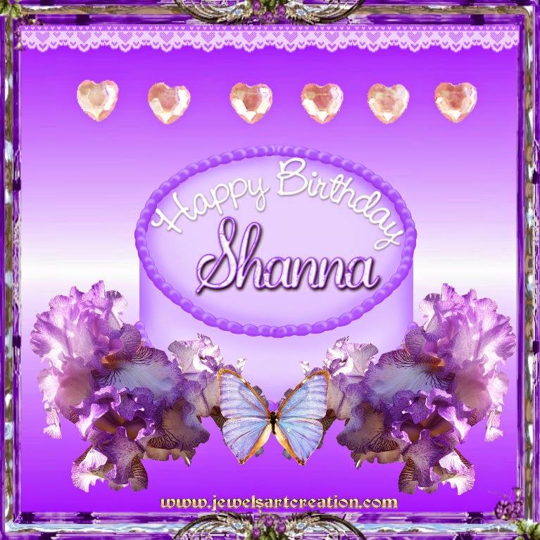 Birthday Personalised ~ Jewels Art Creation