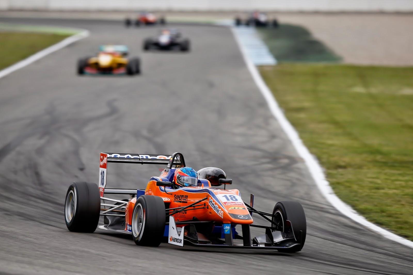 "<img src=""CalderonF3.jpg"" alt=""FIA F3 Tatiana Calderon Hockenheim"" title=""Tatiana Calderon en Hockenheim"" />"
