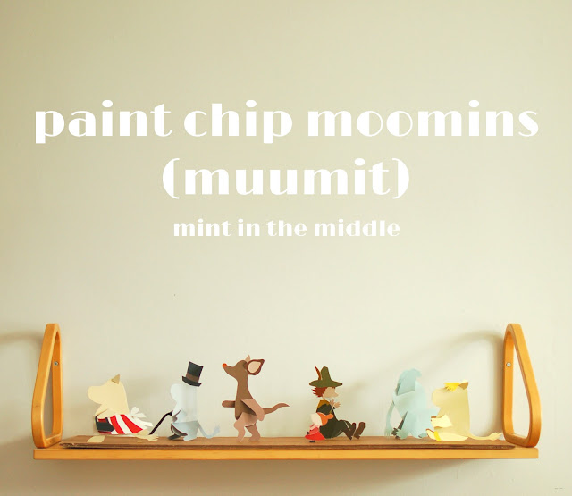 paint chip moomins