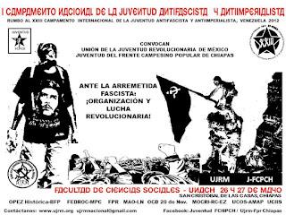 I Campamento Nacional de la Juventud Antifascista y Antiimperialista