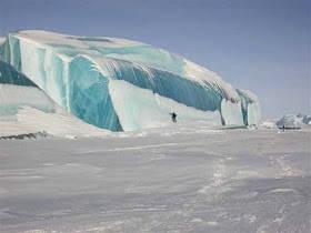 Fenomena Gelombang beku - Ice wave