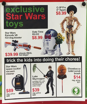 Fake Star Wars Toys at Target by Jeff Wysaski