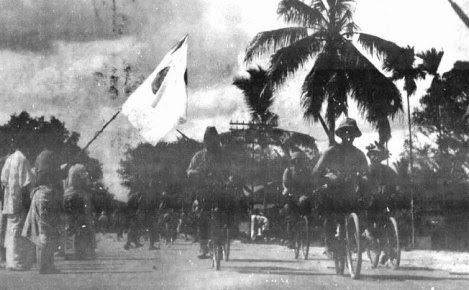 Briged infantari berbasikal Jepun ketika menjajah Malaya