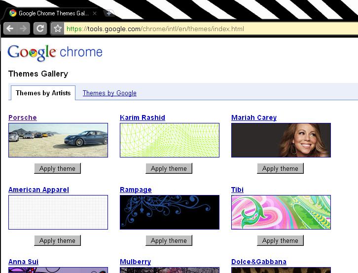sexy Chrome Themes - ThemeBeta
