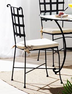 silla forja, sillon forja, silla exterior forja, silla terraza forja