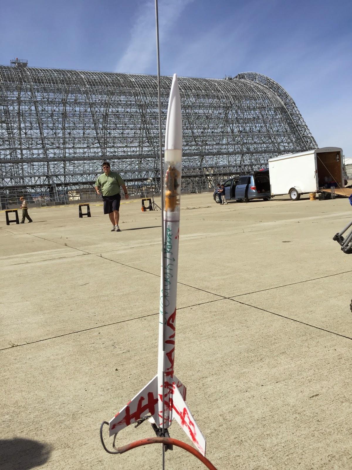 grot rocket, ork rocket launch, nova payloader, estes nova payloader, ork rokkit launch