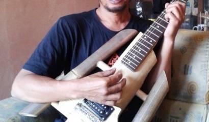 Virageawie Gitar Bambu Unik Asal Bandung