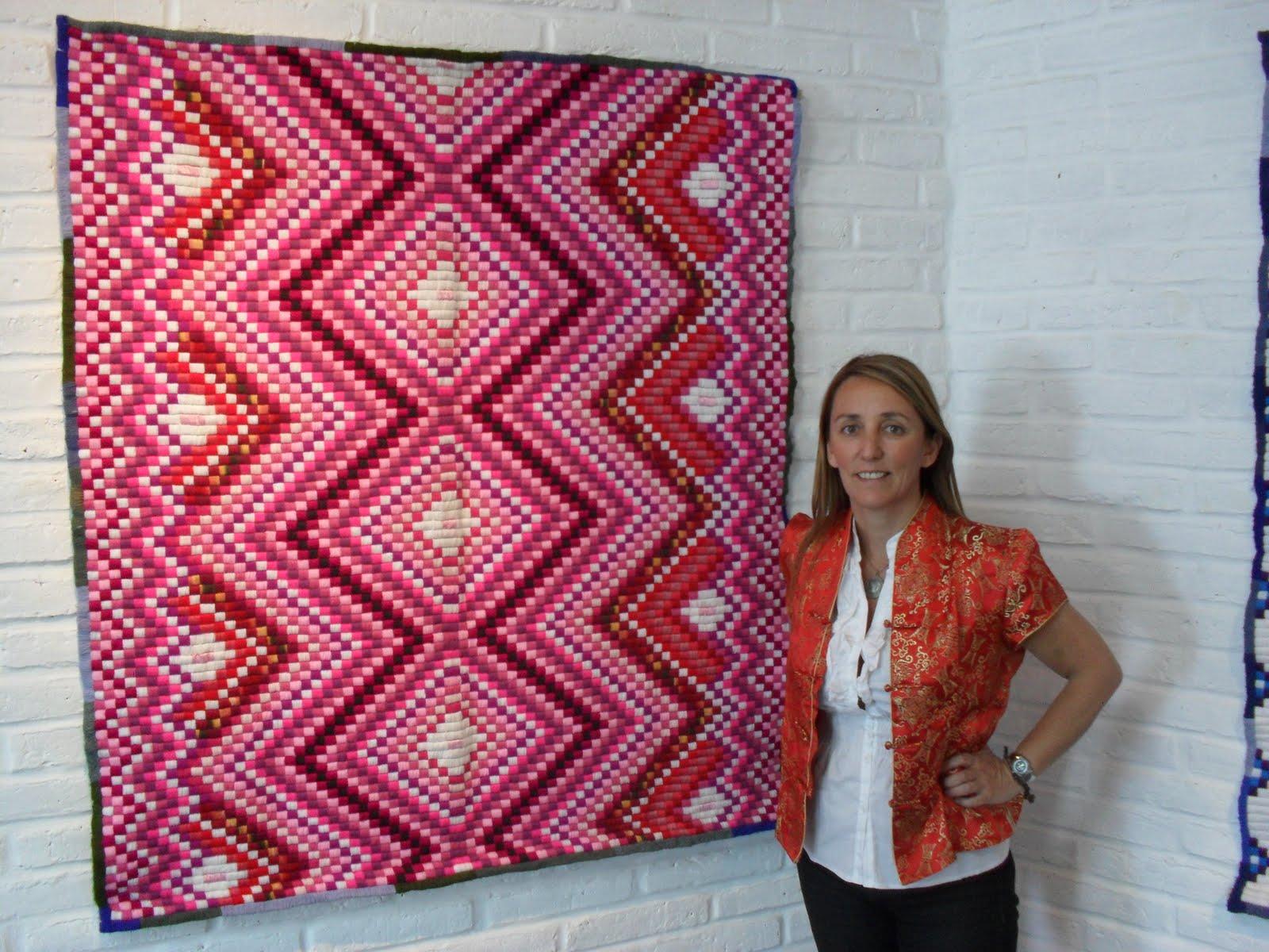 Mariana mai arte textil decoraci n y dise o incaico for Como hacer alfombras en bordado chino