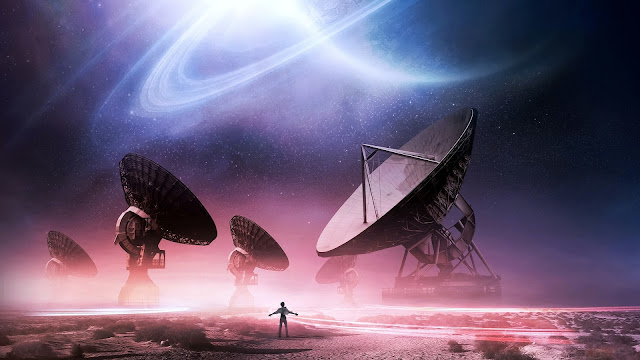 Radio Telescopes Space Exploration HD Wallpaper