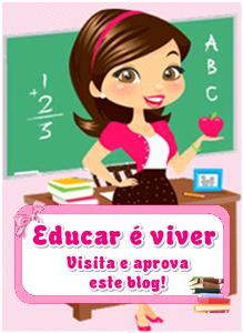 Selinho de aprovação que ganhei da amiga Pedagoga Viviane.Muito obrigado!!