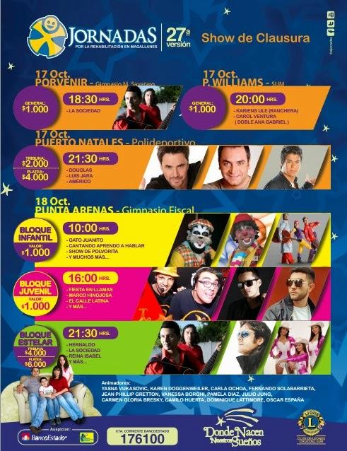 Jornadas 2014 - Punta Arenas