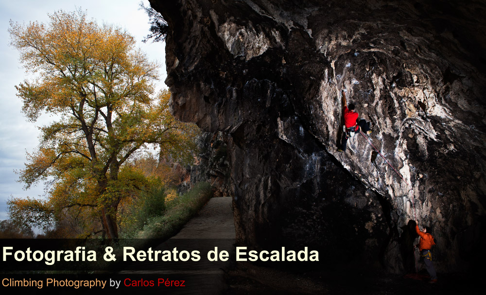          Fotografa, retratos de escalada