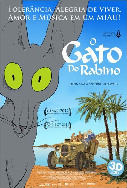 Filme Poster O Gato do Rabino DVDRip XviD Dual Audio & RMVB Dublado