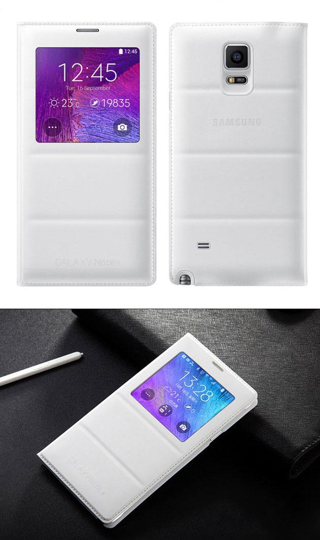 เคส S-View Note 4 รหัสสินค้า 131034 สีขาว